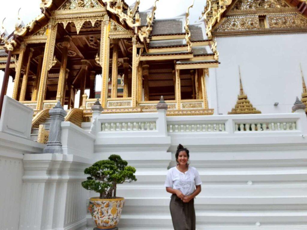 Gran Palacio en Bangkok es una de las atracciones turísticas en Tailandia